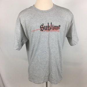 Sublime Long Beach Shirt Mens Large